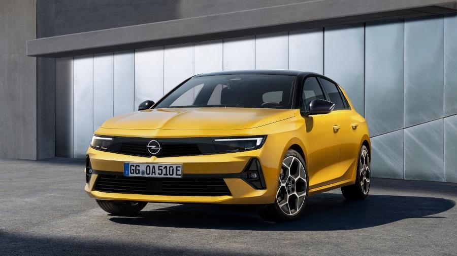Opel Astra 2022 - Divulgação
