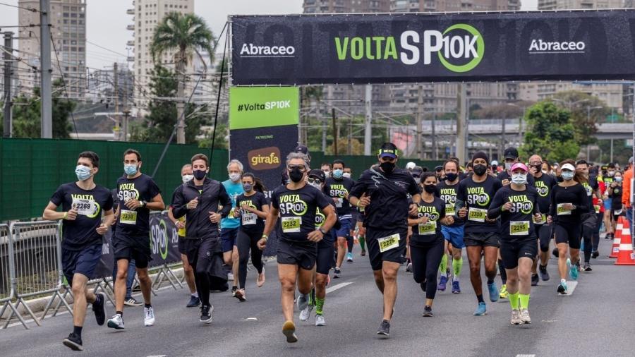 A prova foi a primeira corrida de rua presencial da capital paulista em 2021 - George Gargiulo/360+