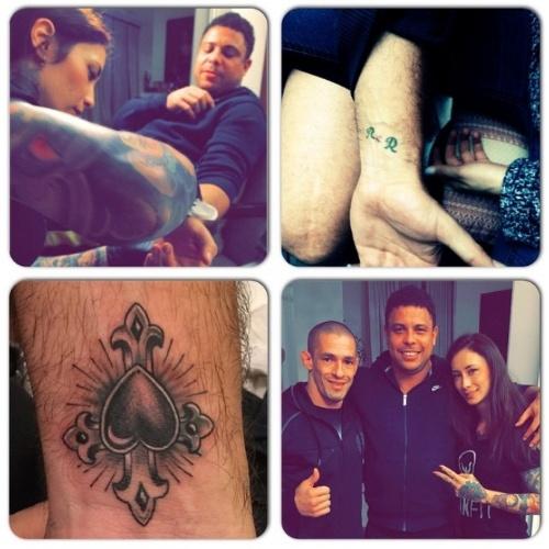Ronaldo cobre tatuagem em homenagem a ex-mulher Daniella Cicarelli