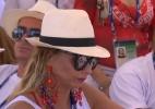 Viviane Araújo, rainha da bateria do Salgueiro, segue apuração na Apoteose - Reprodução/Rede Globo