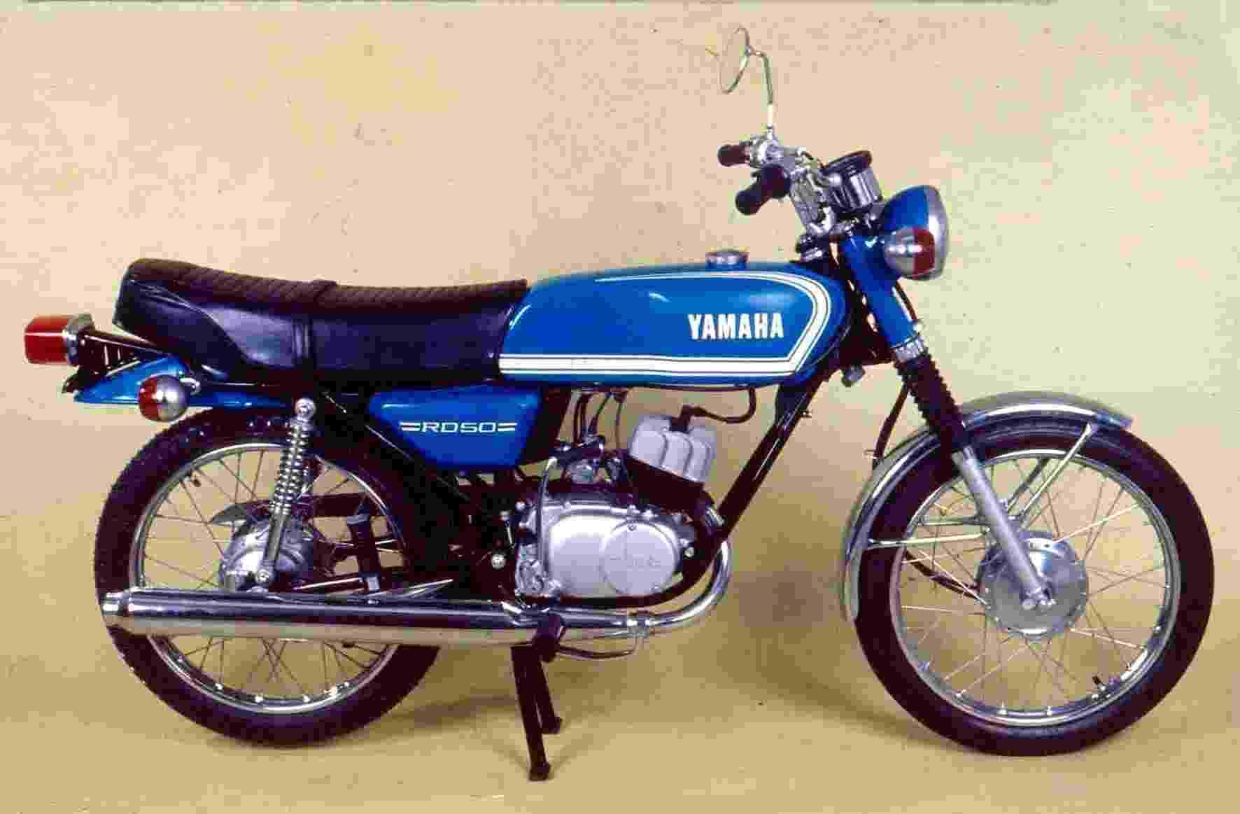 """Yamaha RD 50, primeira moto """"made in Brazil"""", faz 40 anos - Reprodução"""