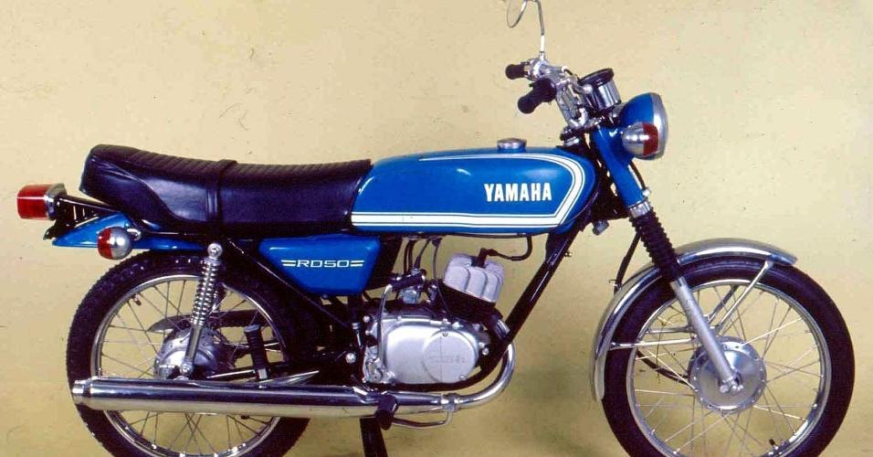 """Yamaha RD 50, primeira moto """"made in Brazil"""", faz 40 anos"""