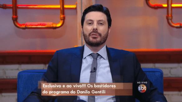 10.ago.2016 - Danilo Gentili explica transferência para o SBT
