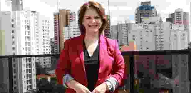A autora Leonor Corrêa diz que escrever sua primeira novela é a realização de um sonho - Leonardo Nones/SBT