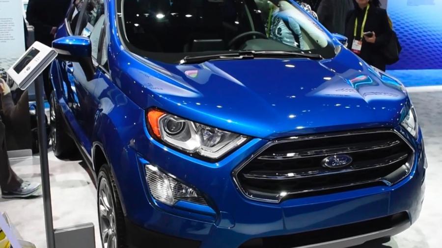 Aguardado facelift do Ford EcoSport será uma das estrelas do evento - Reprodução