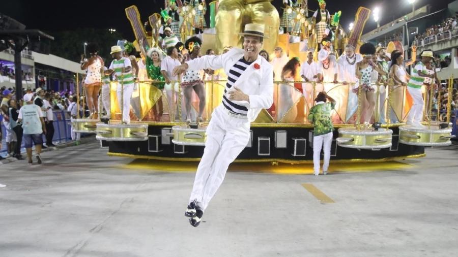 Carlinhos de Jesus é novidade na Portela no Carnaval de 2019 - Daniel Pinheiro/AgNews