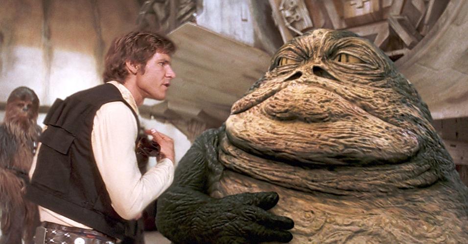 """Cena de """"Star Wars - Episódio IV - Uma Nova Esperança"""" (1977), de George Lucas"""