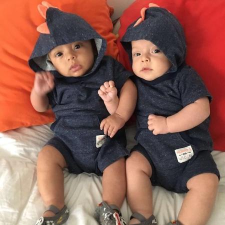 José e Francisco, filhos de Bruno Mazzeo - Reprodução/Instagram