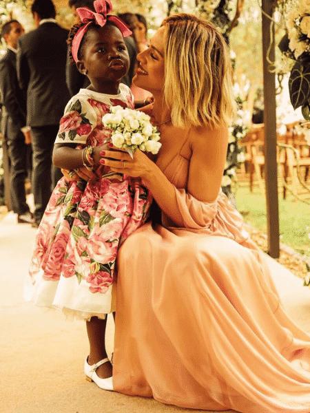Giovanna Ewbank e Titi no casamento de Marina Ruy Barbosa e Xande Negrão - Reprodução/Instagram/gio_ewbank