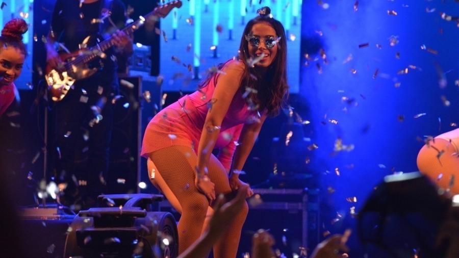 """Anitta apresenta o """"Show das Poderosinhas"""", dedicado ao público infanto-juvenil no Recife - Felipe Souto Maior/AgNews"""