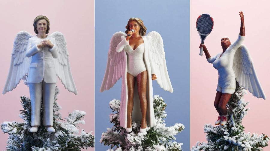 Você pode ter um mulherão no topo da sua árvore de Natal - Reprodução