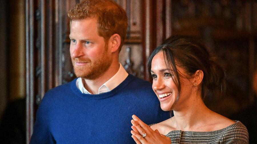 Príncipe Harry e Meghan Markle - Ben Birchall - WPA Pool / Getty Images