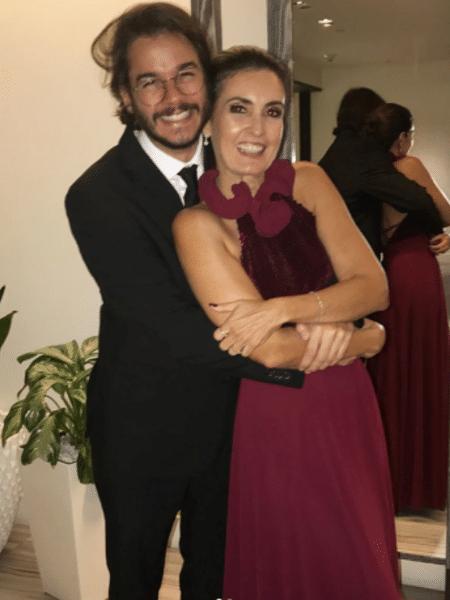 Túlio Gadêlha e Fátima Bernardes em premiação nos Estados Unidos - Reprodução/Instagram/tuliogadelha