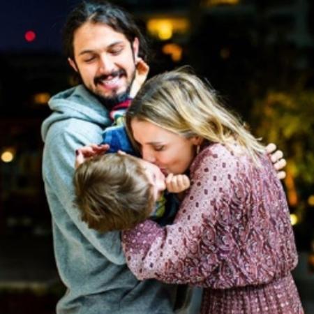 Romulo Estrela e Nilma comemoram aniversário de Theo - Reprodução/Instagram