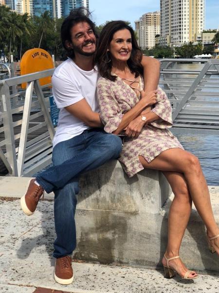Fátima Bernardes faz declaração apaixonada para Túlio no Dia dos Namorados - Reprodução/Instagram