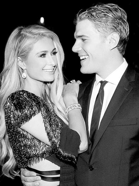 Paris Hilton e o ex-noivo, Chris Zylka - Reprodução/Instagram