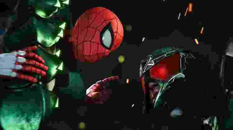Spider-Man - Homem-Aranha enfrentando vilão Scorpion - Divulgação - Divulgação