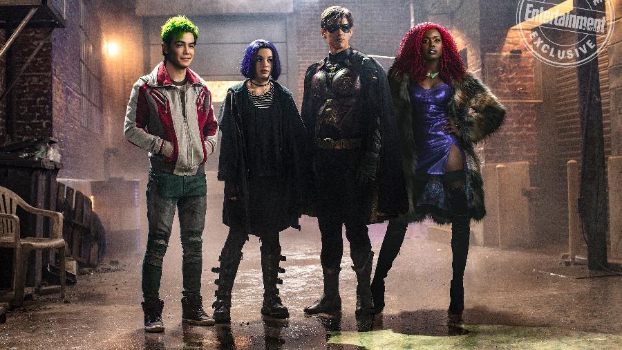 """Nova foto de """"Titans"""" foi divulgada - Reprodução"""