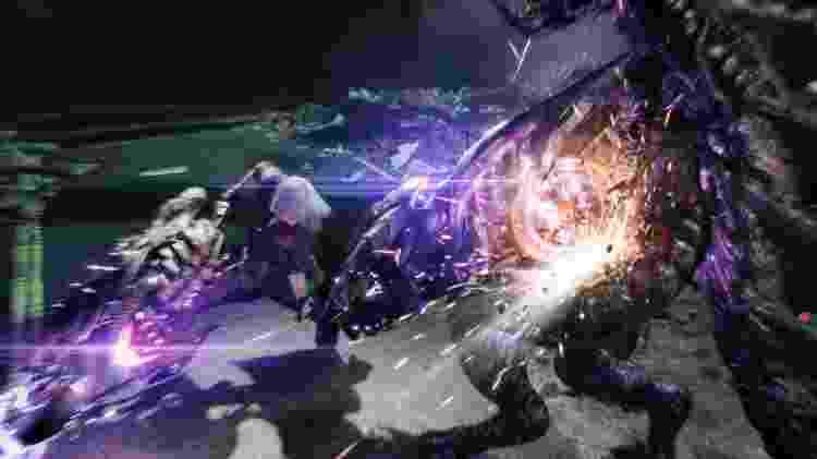 Dante pode usar a sua moto como arma! - Reprodução