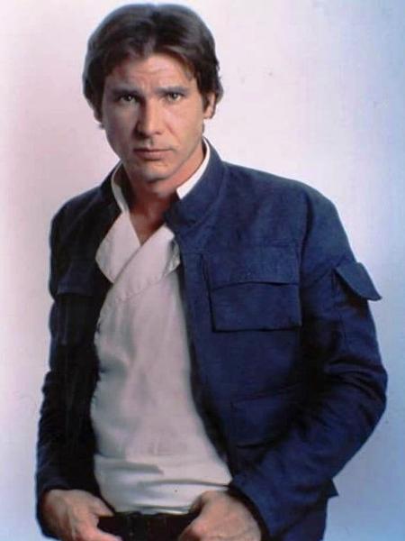 """Harrison Ford usa icônica jaqueta azul em """"Star Wars - Episódio V: O Império Contra-Ataca"""" - Reprodução"""