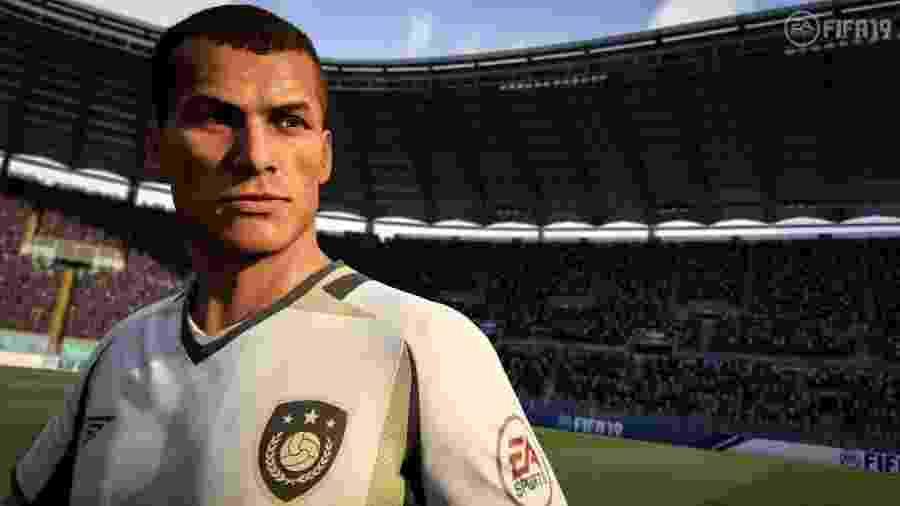 """Rivaldo é uma das lendas do """"Fifa 19"""" - Reprodução"""