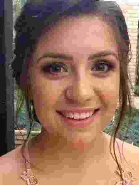 Gabriella foi abusada pelo pai de um amigo enquanto estava bêbada - Arquivo Pessoal