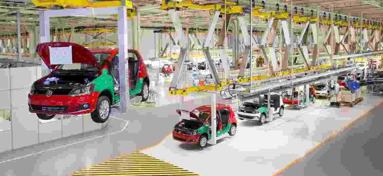 Fábrica da Volkswagen em São José dos Pinhais, no Paraná - Divulgação