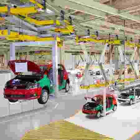 Fábrica da Volkswagen em São José dos Pinhais (PR) - Divulgação