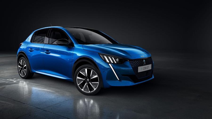 Novo Peugeot 208 e-GT será lançado no próximo dia 28 e vendas inicialmente vão acontecer em apenas duas cidades - Divulgação