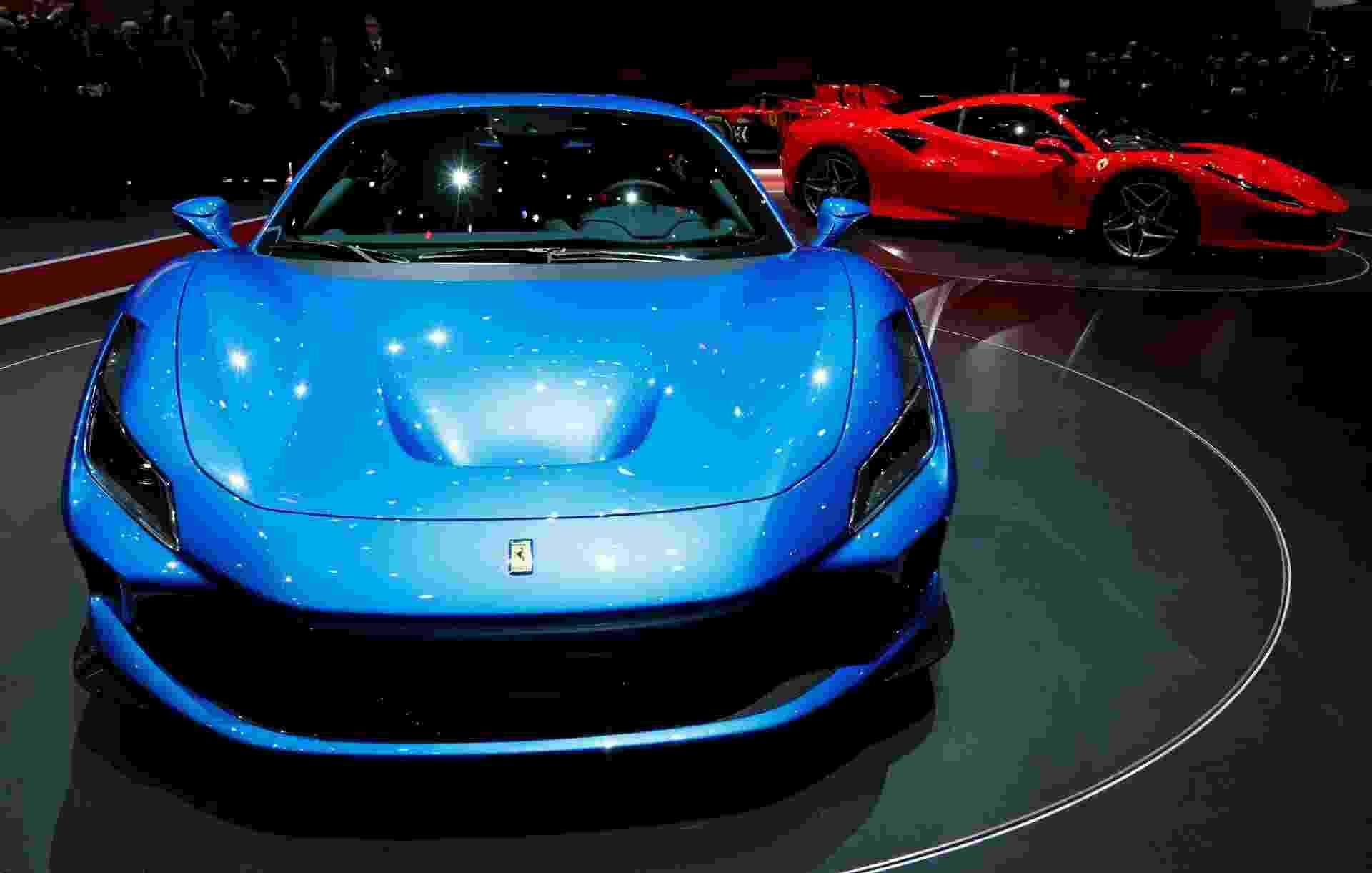 Ferrari F8 Tributo - Jakob Ebrey/Newspress