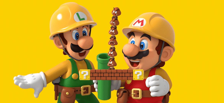 Super Mario Maker 2 foi lançado para Nintendo Switch - Reprodução