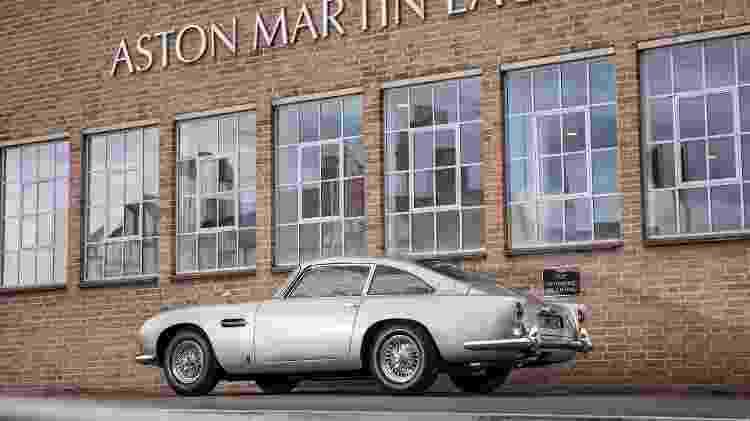 Aston Martin DB5 vendido a preço recorde passou por quatro anos de restauração para ficar impecável - Divulgação