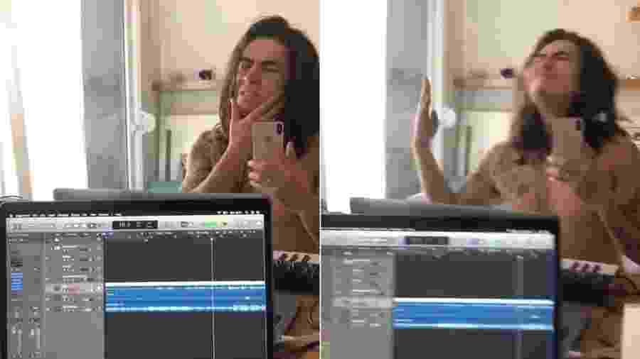 Whindersson Nunes faz paródia de música de Travis Scott - Montagem/UOL/Reprodução/Twitter