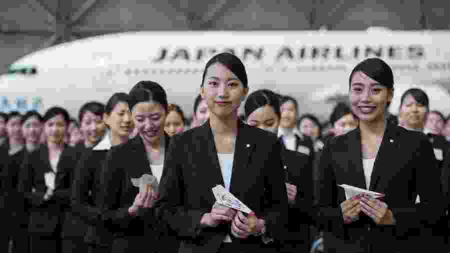Aeromoças da Japan Airlines - Anadolu Agency / Getty Images