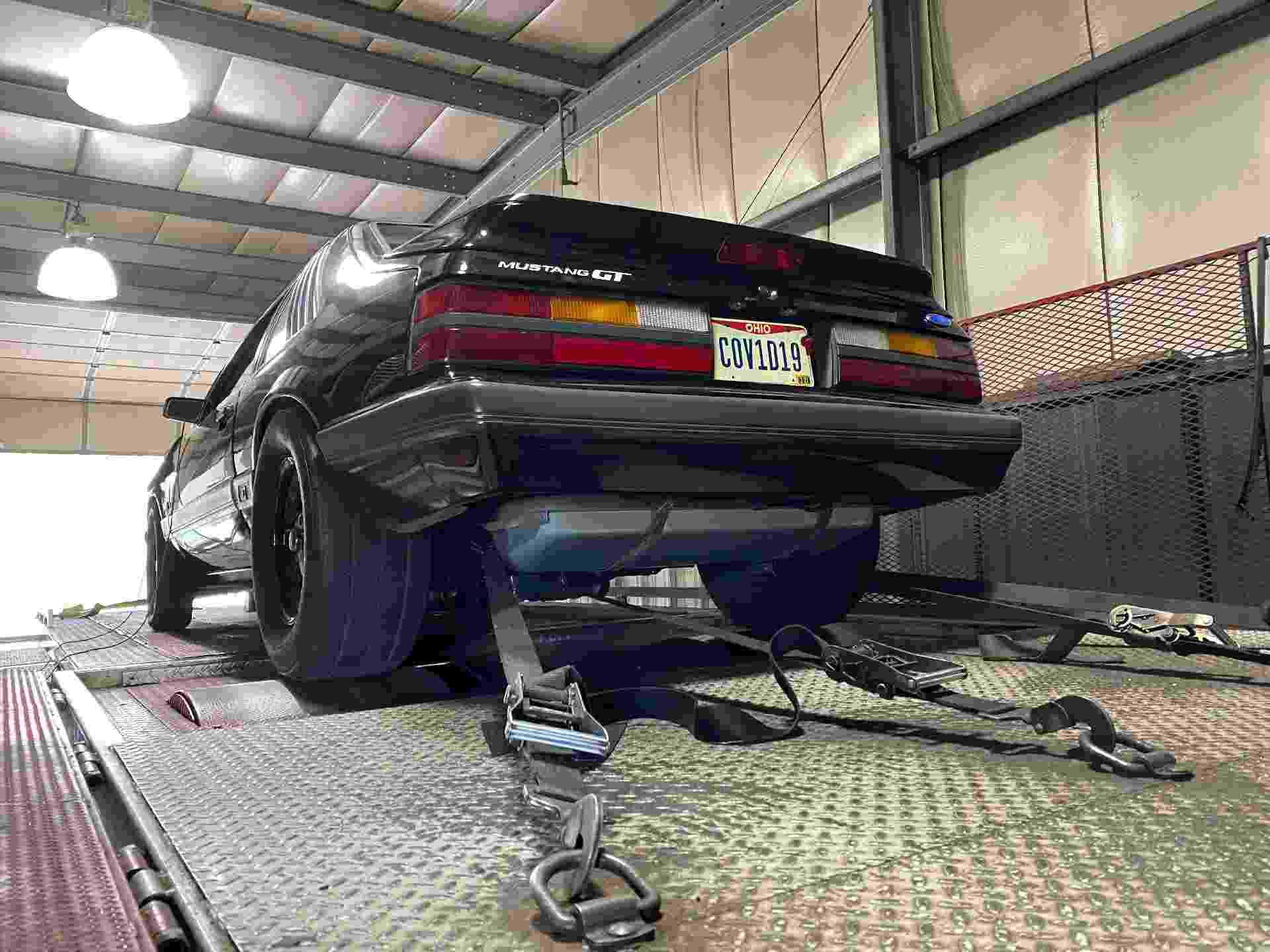 Brandon Ciriello Ford Mustang GT 1986 coronavírus COV1D19 - Arquivo pessoal