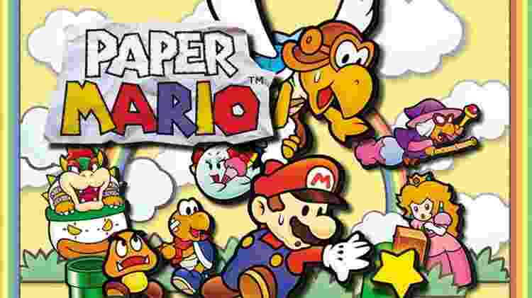 Paper Mario N64 - Divulgação/Nintendo - Divulgação/Nintendo