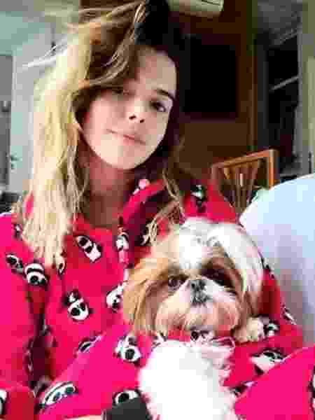 Giovanna Lancellotti combina look com cadela de estimação - Reprodução/Instagram