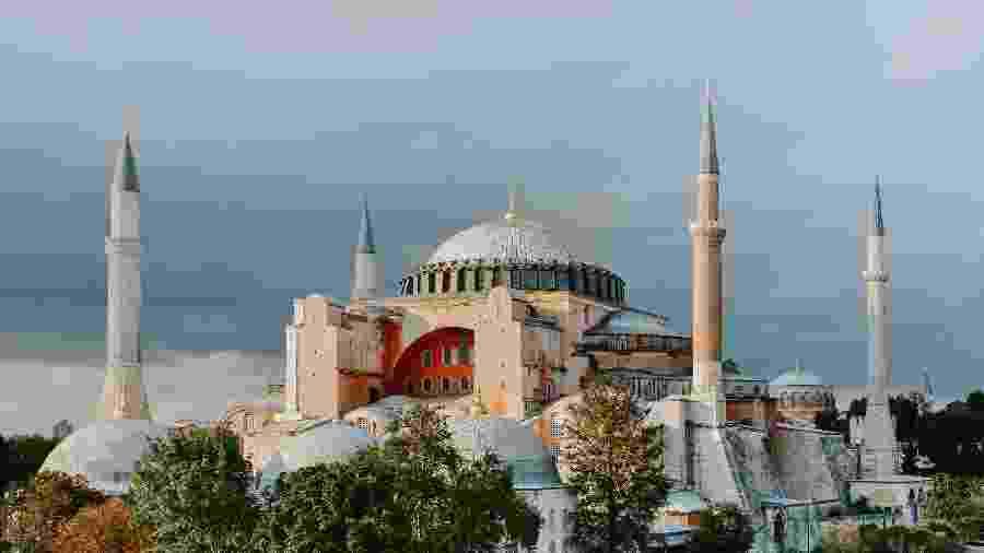 Santa Sofia, em Istambul - Unsplash