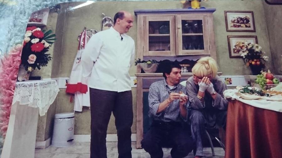 Ana Maria Braga publicou foto de bastidores tirada em 1996 - Reprodução/Instagram @anamaria16