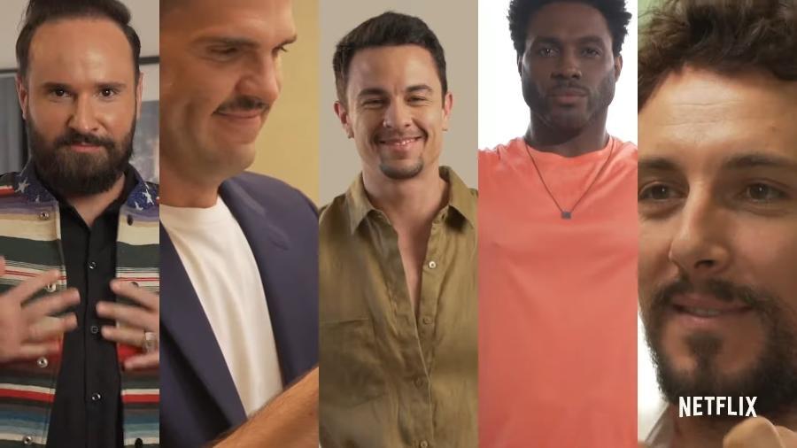 """Netflix divulgou elenco da versão brasileira de """"Queer Eye"""" - Reprodução/YouTube"""