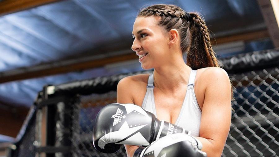 A lutadora de MMA Mackenzie Dern - Reprodução