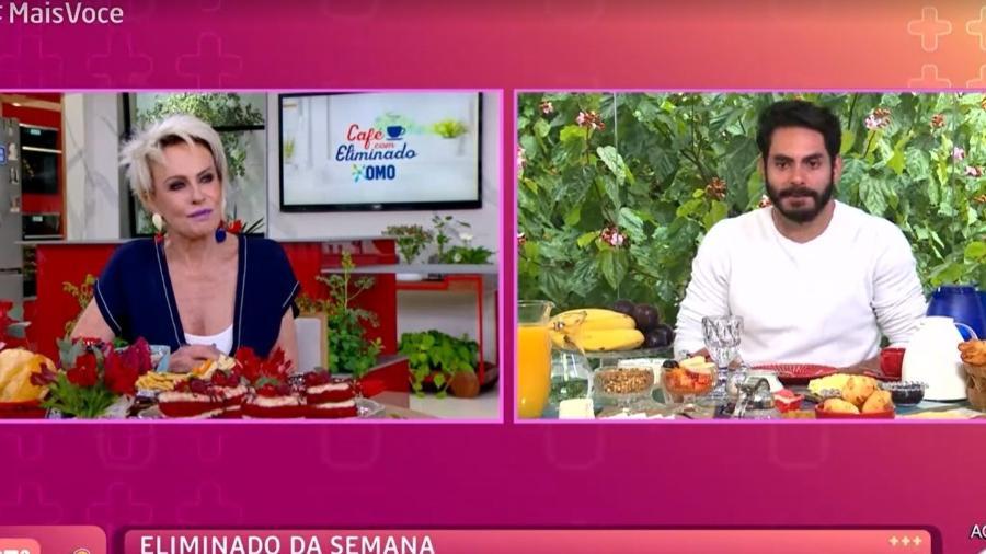 BBB 21: Rodolffo explica comentário para Ana Maria Braga - Reprodução/TV Globo