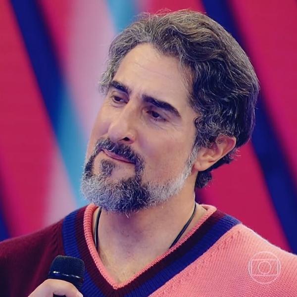 """Marcos Mion se emocionou durante estreia no """"Caldeirão"""""""