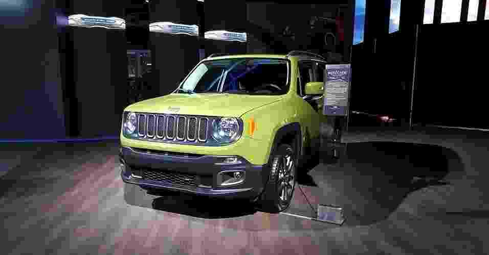 Jeep Renegade 75th Anniversary - Leonardo Felix/UOL