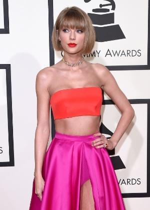Taylor Swift estreou novo corte de cabelo e virou alvo de comentários na internet - Getty Images