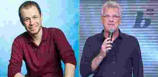 Globo vai anunciar Leifert no BBB e Bial no lugar do Jô - Reprodução/Montagem - Reprodução/Montagem