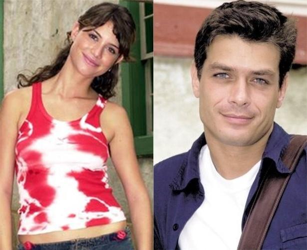 """Alinne Moraes diz que suas pernas tremiam ao contracenar com Fábio Assunção em """"Coração de Estudante"""" (2002)"""