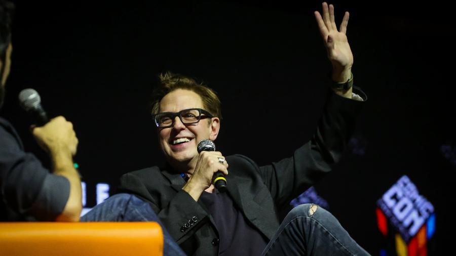 """O diretor James Gunn na CCXP em 2016, no Brasil. Ele participou do painel sobre """"Guardiões da Galáxia 2"""" - Edson Lopes Jr./UOL"""