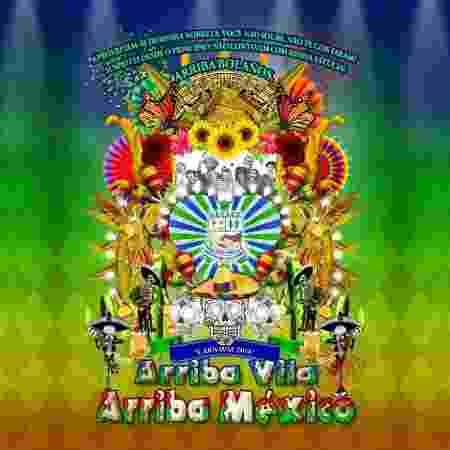 """Unidos de Vila Maria homenageará México e """"Chaves"""" no Carnaval 2018 de São Paulo - Reprodução/Facebook/Unidos de Vila Maria - Reprodução/Facebook/Unidos de Vila Maria"""