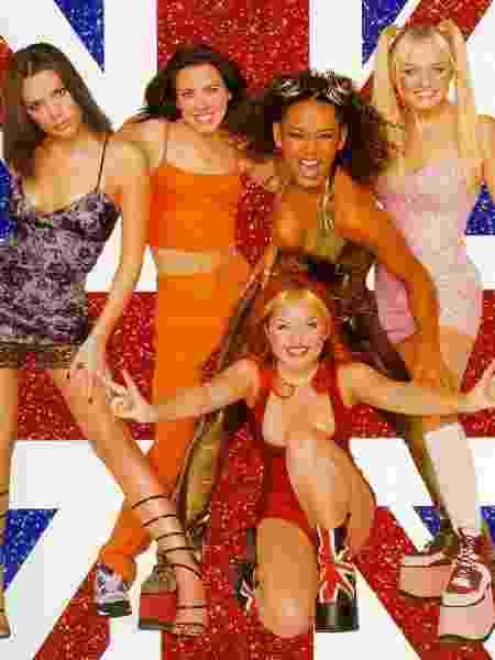 Spice Girls nos anos 90 - Divulgação